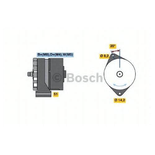 Bosch 0 986 037 760 Генератор