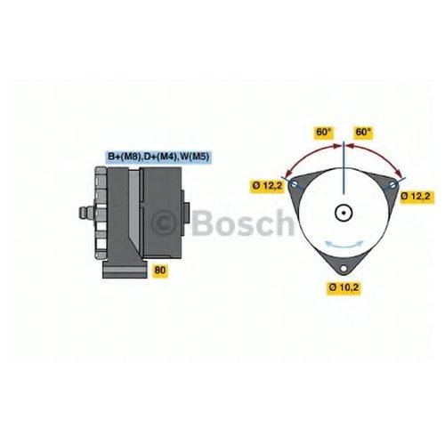 Bosch 0 986 037 770 Генератор
