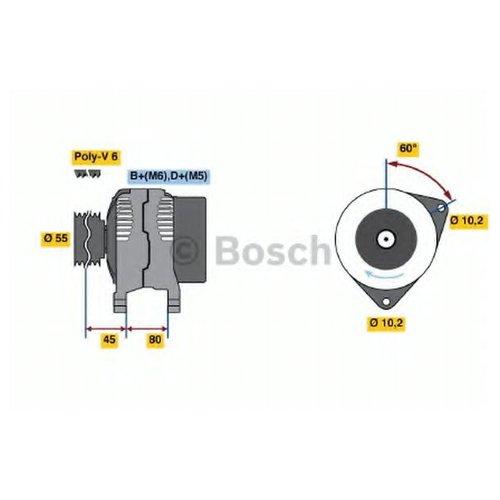 Bosch 0986038030 Генератор