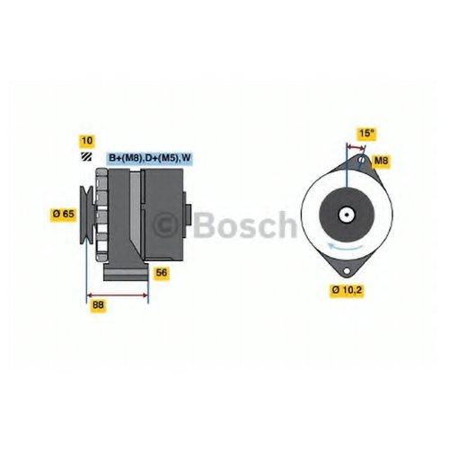 Bosch 0 986 038 080 Генератор