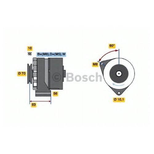 Bosch 0 986 038 100 Генератор