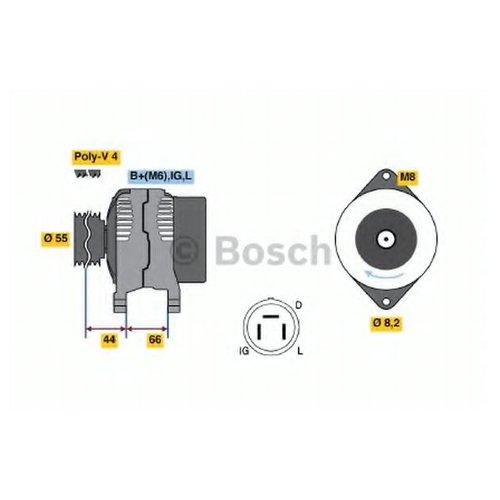 Bosch 0 986 038 151 Генератор