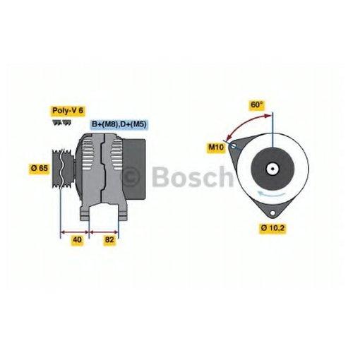 Bosch 0 986 038 180 Генератор